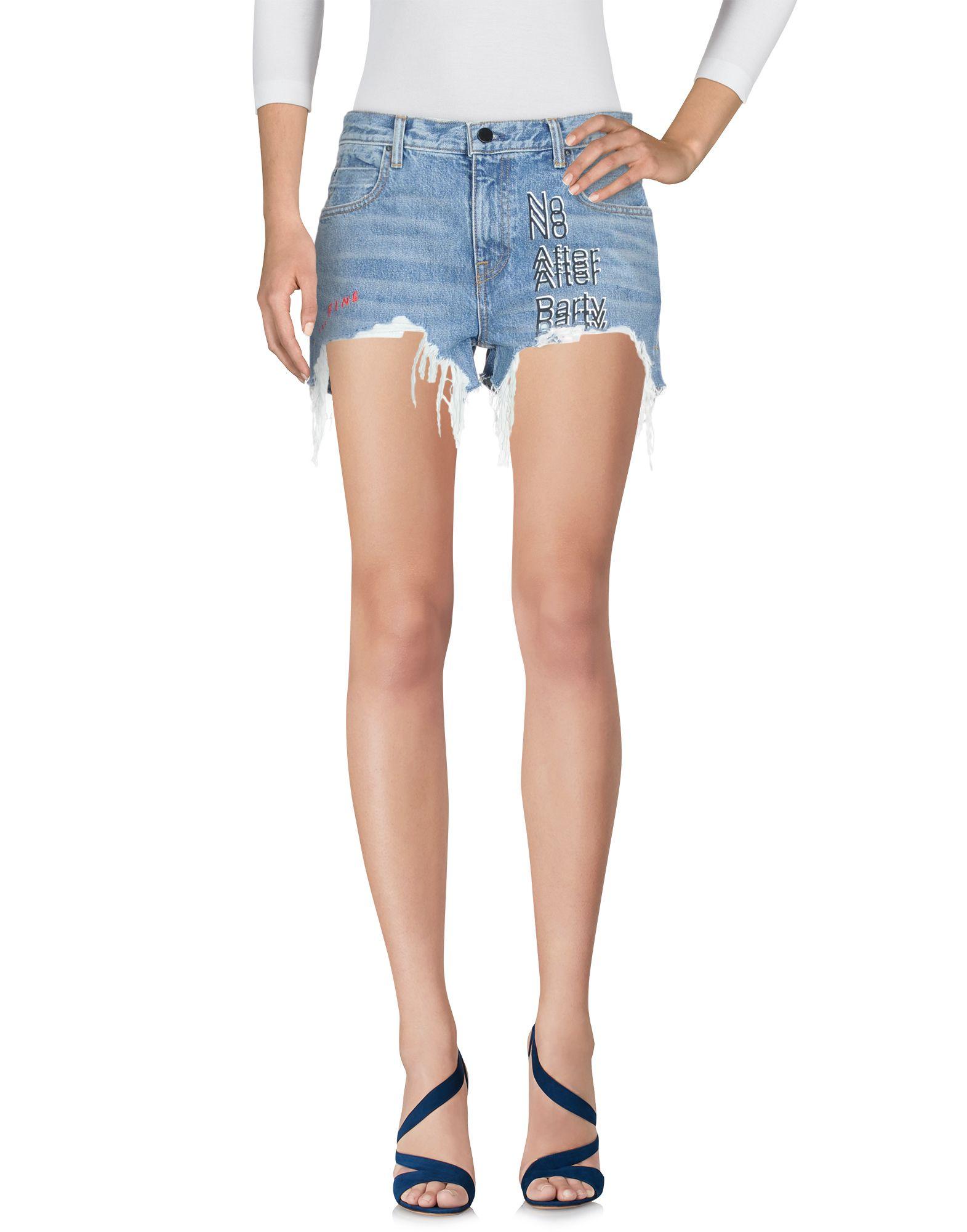 Shorts Jeans Alexander Wang Donna - Acquista online su
