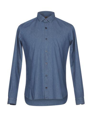 Gabardin Denim Shirt salg ekstremt rabatt bla 100% opprinnelige salg PMUxT