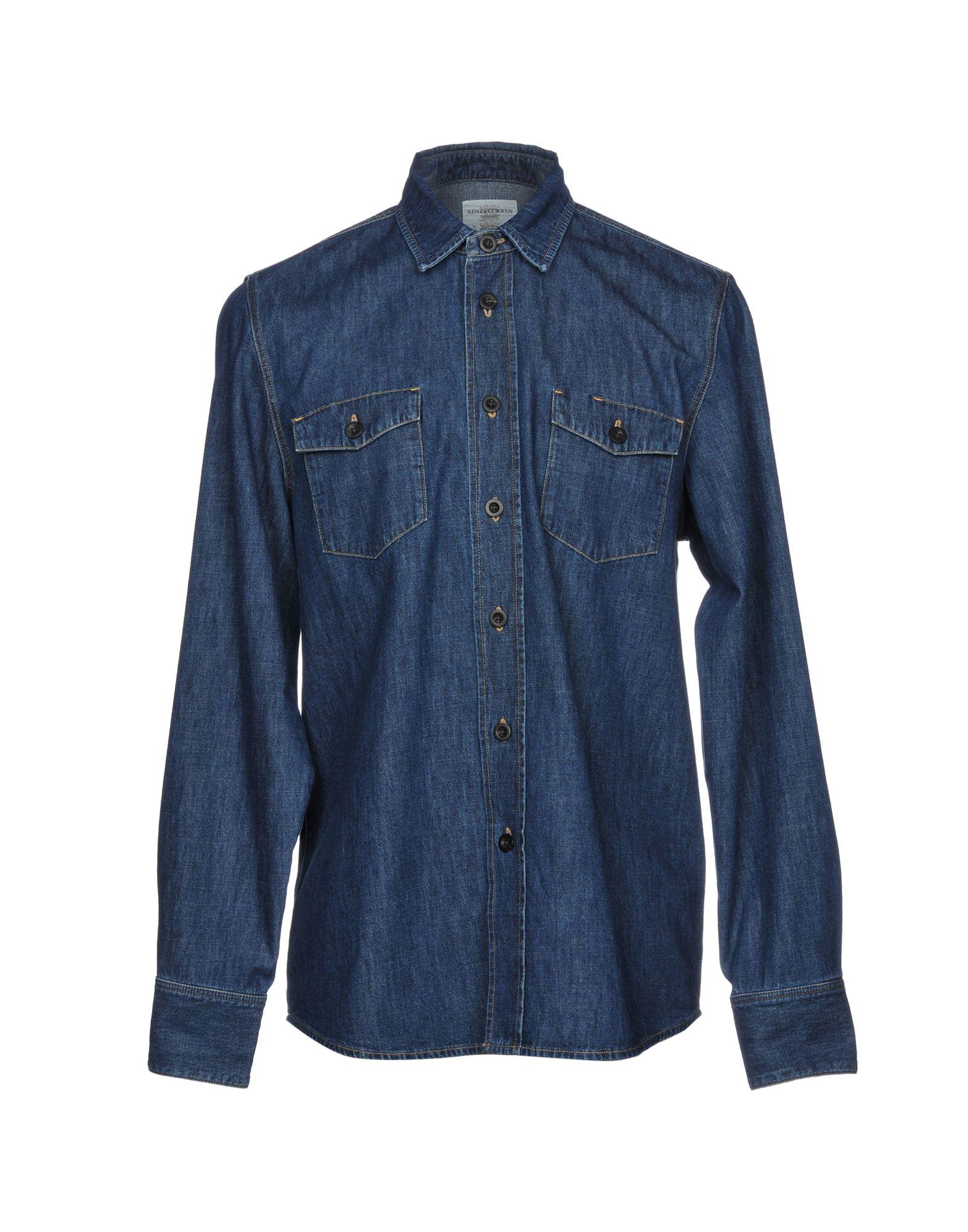 su Curwen Acquista Kent Camicia Jeans amp; Donna online qwAFF0v