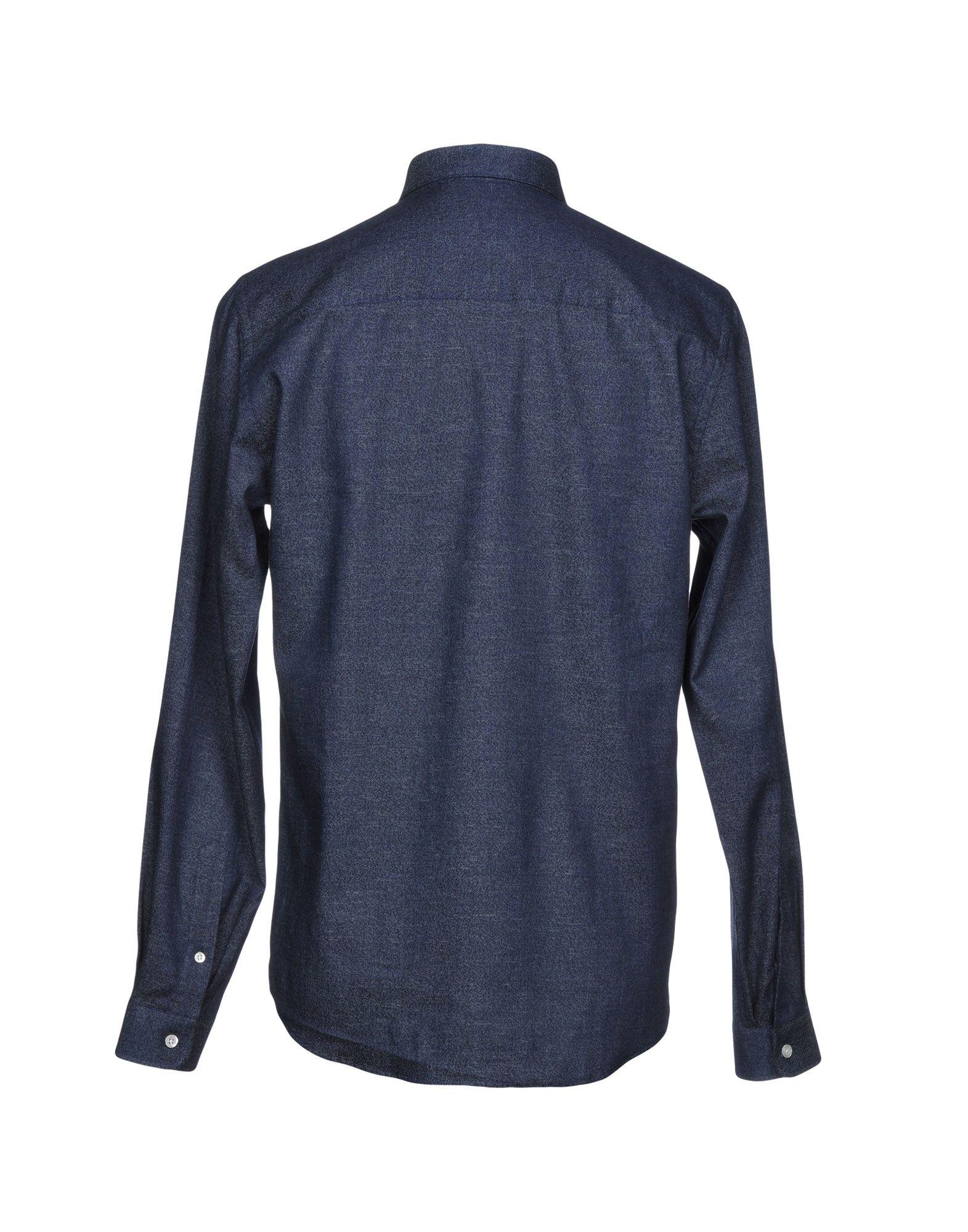 Camicia Camicia Camicia Jeans Ami Alexandre Mattiussi Uomo - 42669514NR 021828