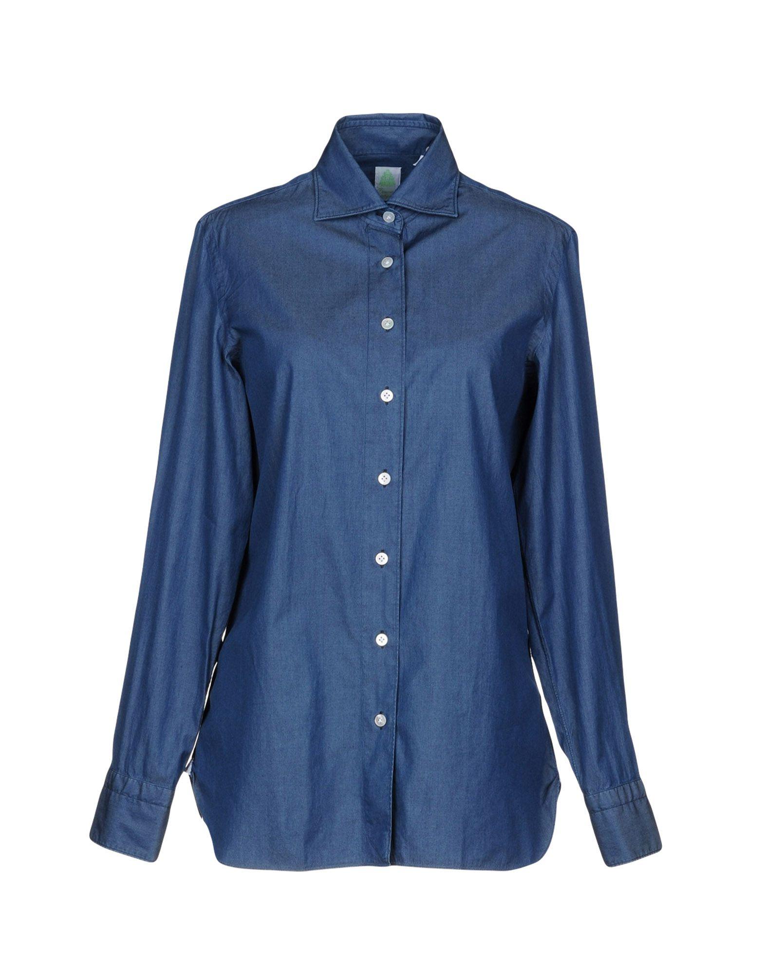 Camicia Jeans Finamore 1925 Donna - Acquista online su CBoaN7di