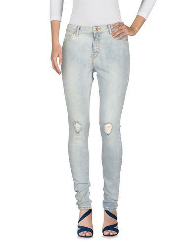 Moda Jeans Pantalon Bleu Vero Jean En RdqwW6W4