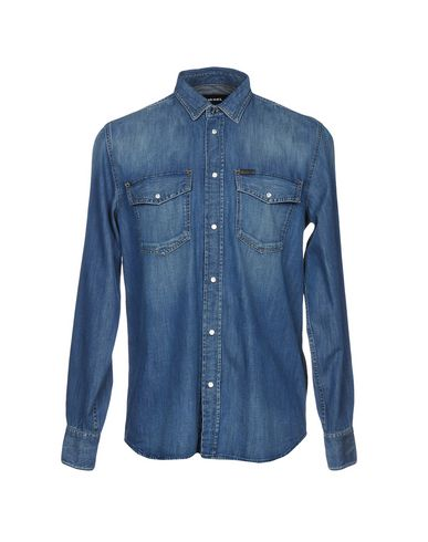 cdfe873272b Diesel Denim Shirt - Men Diesel Denim Shirts online on YOOX Latvia ...