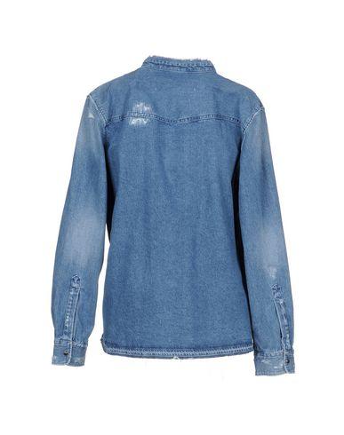 Golden Goose Deluxe Merkevare Denim Shirt nettsteder billig pris salg laveste prisen gBiO2g
