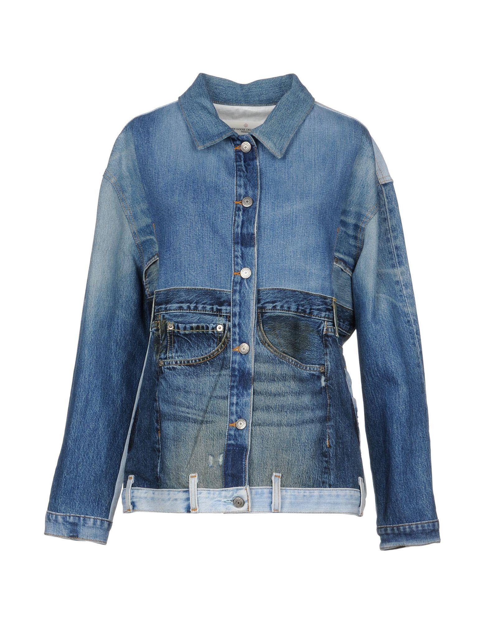 Giubbotto Jeans Golden Goose Deluxe Brand Donna - Acquista online su