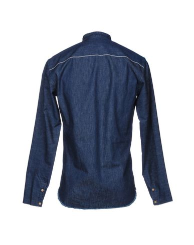 Costumein Denim Shirt gratis frakt real lav frakt gebyr salg for salg dcHPT3