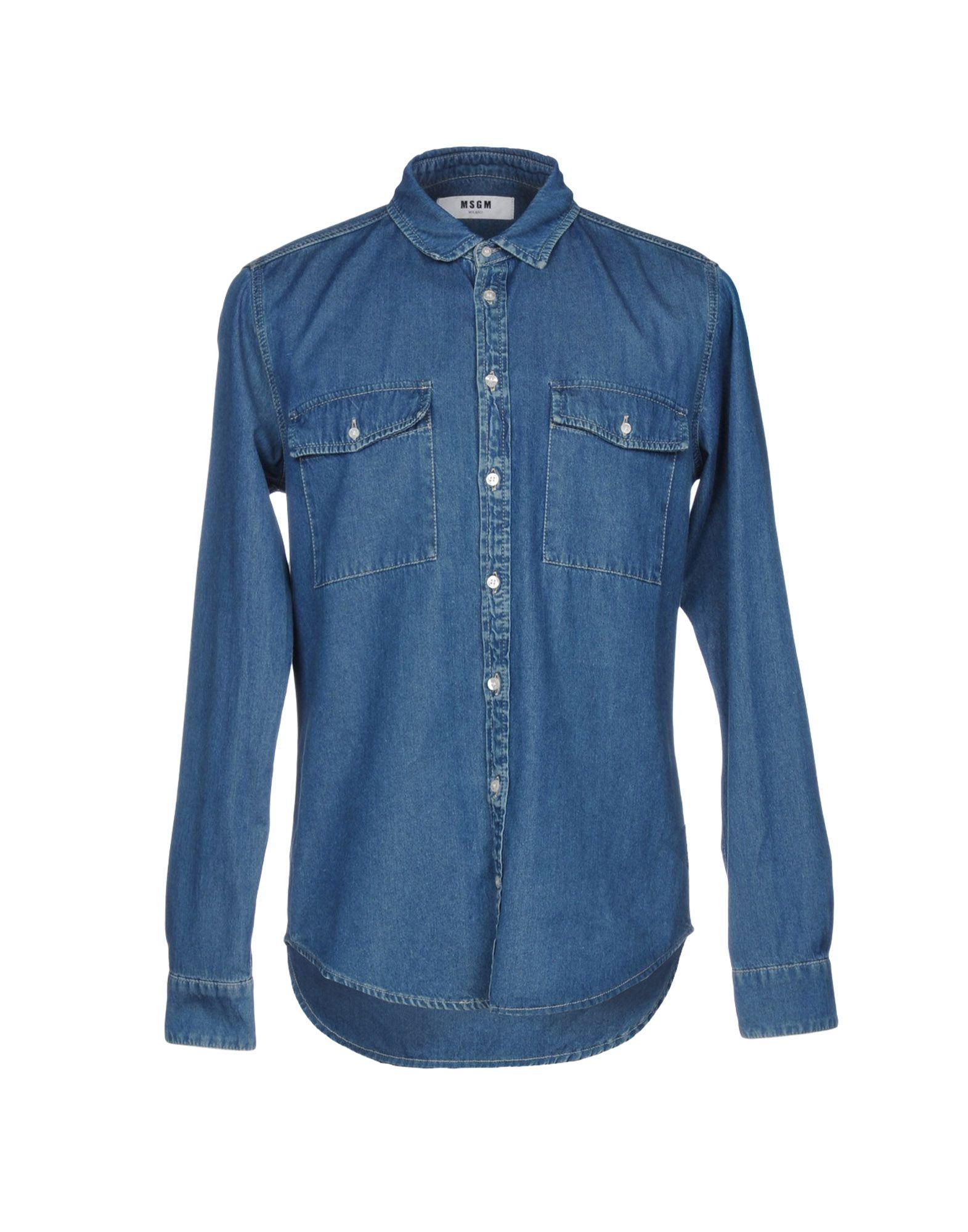Camicia Jeans Msgm Donna - Acquista online su