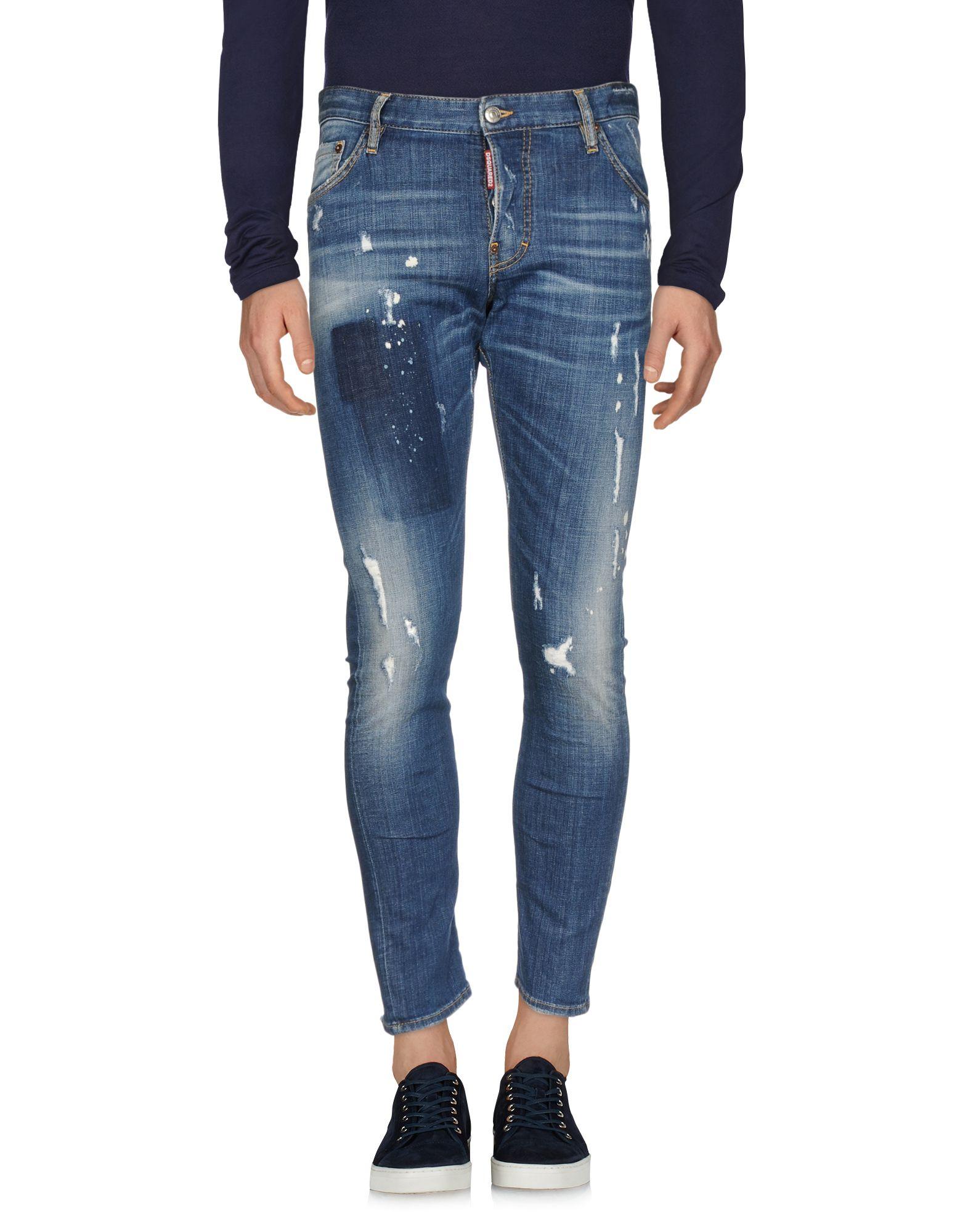 Pantaloni Jeans Dsquarosso2 Uomo - - Uomo 42672326CR d94633