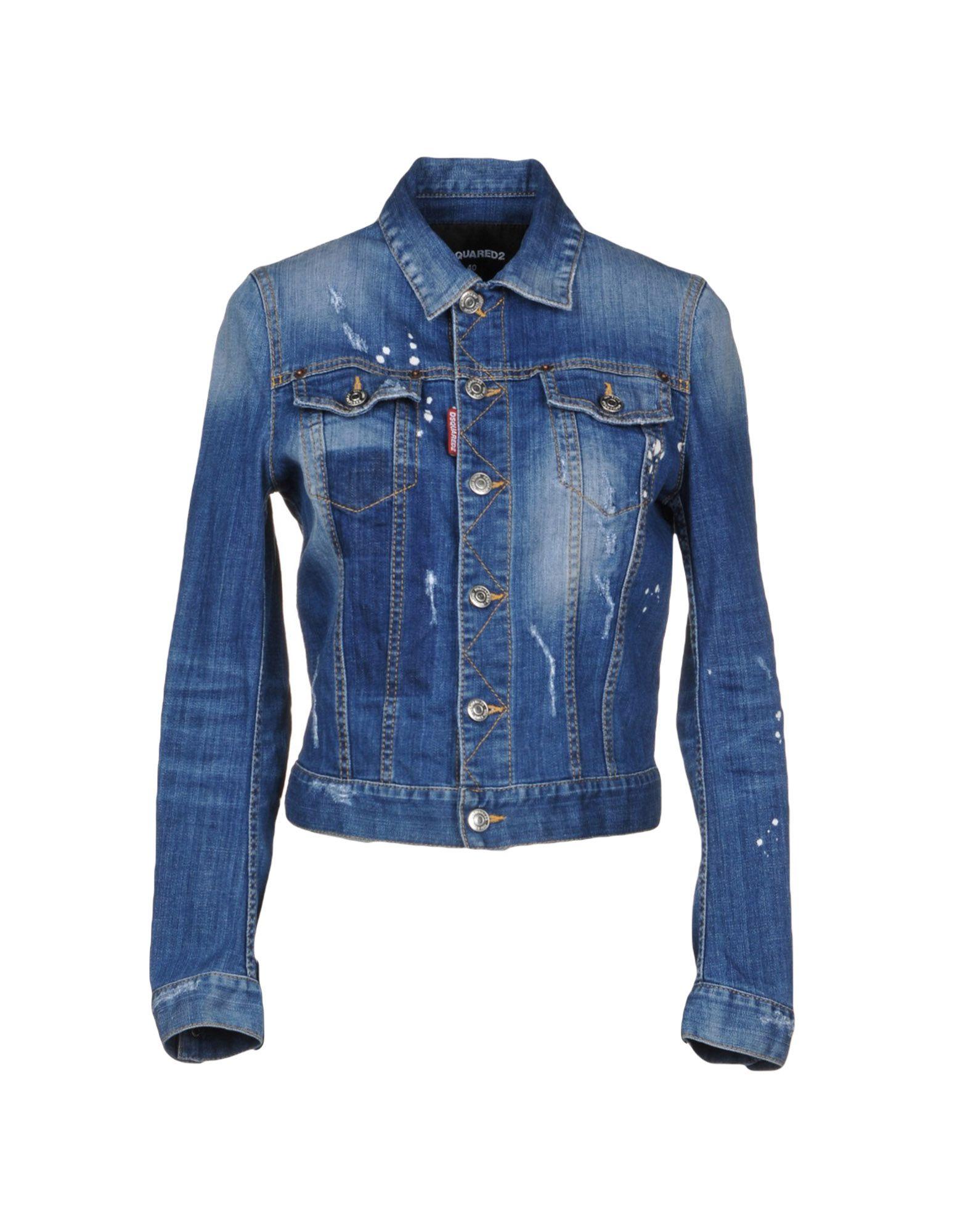 Giubbotto Jeans Dsquared2 Donna - Acquista online su Ws5W63k2kc