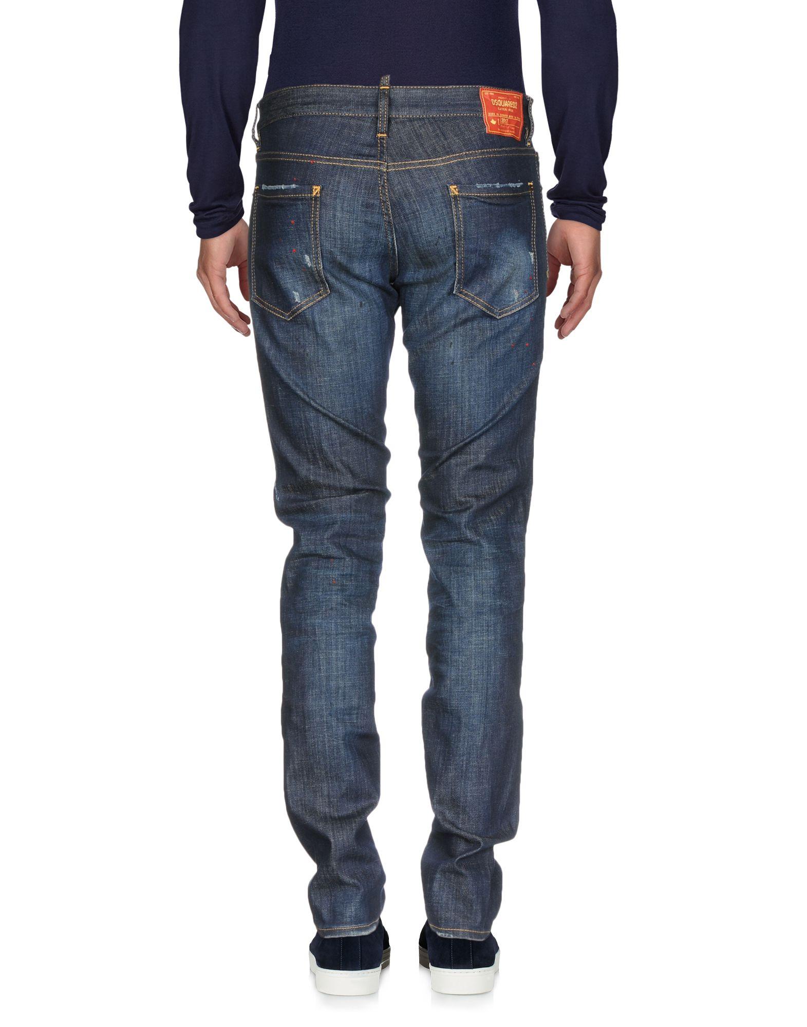 Pantaloni Jeans Dsquarosso2 Uomo - 42673227RP 42673227RP - 80fb3b