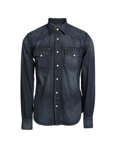 JEAN SHOP Denim Shirt in Blue