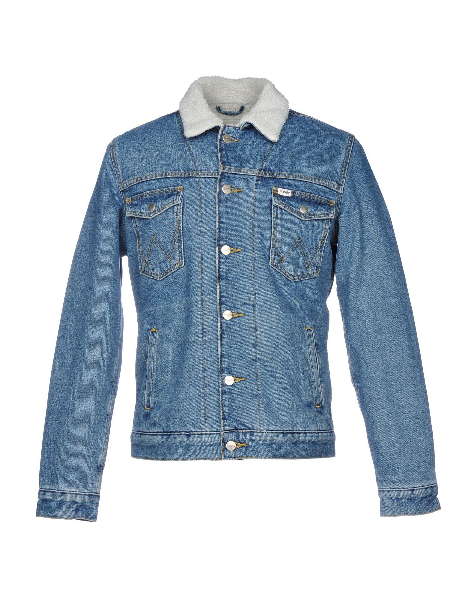 Giubbotto Jeans Wrangler Wrangler Jeans Uomo - 42674235VG b075eb