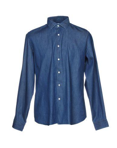 utløp bestselger rimelig billig pris Agho Denim Shirt billig salg populær YWDFmcZu7