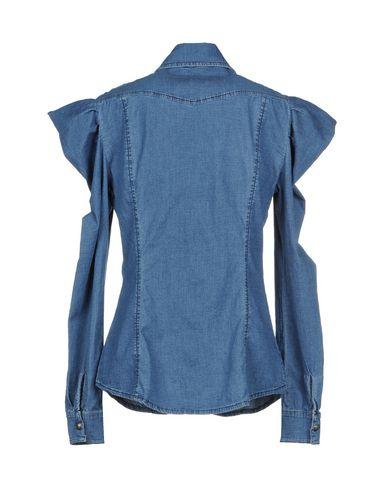 Vennligst Denim Shirt anbefale rabatt for FMQU82xm