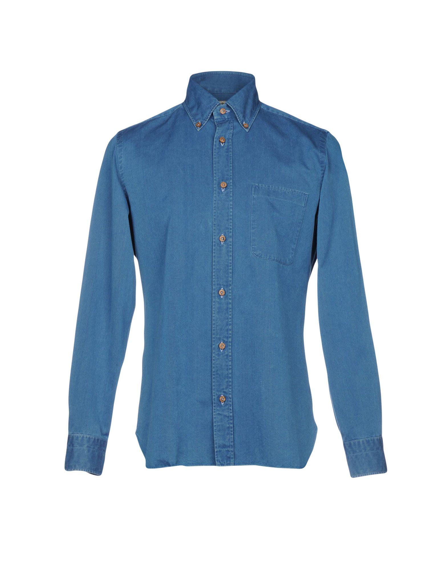 Camicia Jeans Luigi Borrelli Napoli Donna - Acquista online su