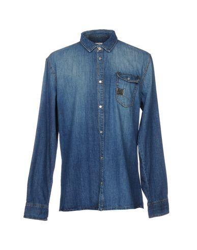 Bikkembergs Denim Shirt begrenset ny mange typer online svært billig pris utløp footaction offisielle billig online sbqxh1