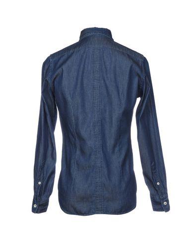 Eleventy Denim Shirt utløp footlocker mållinja rabatt kjøpet billig billig for fint iNyf8BXXdF
