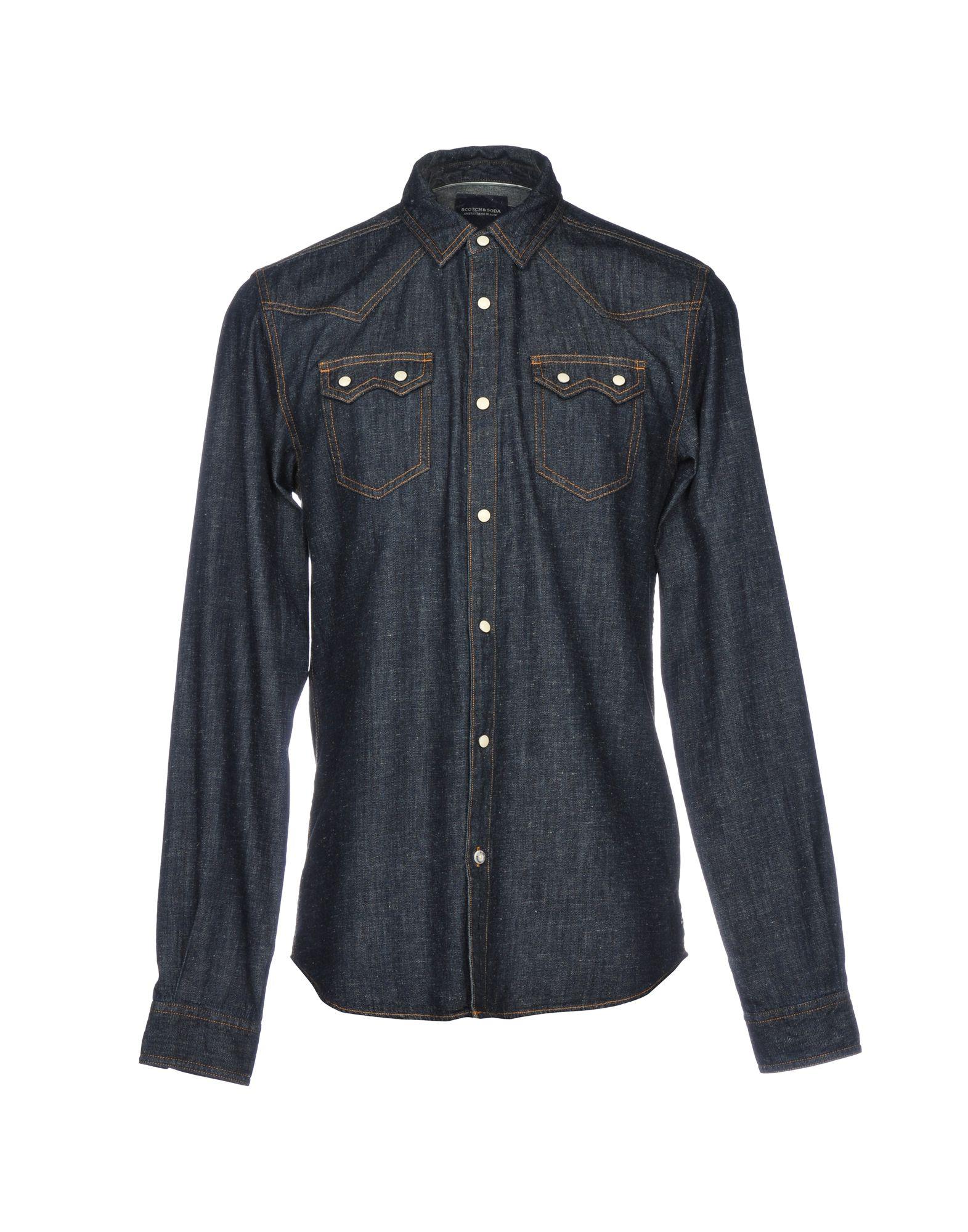 Camicia Jeans Scotch & Uomo Soda Uomo & - 42676087SE 343f9f