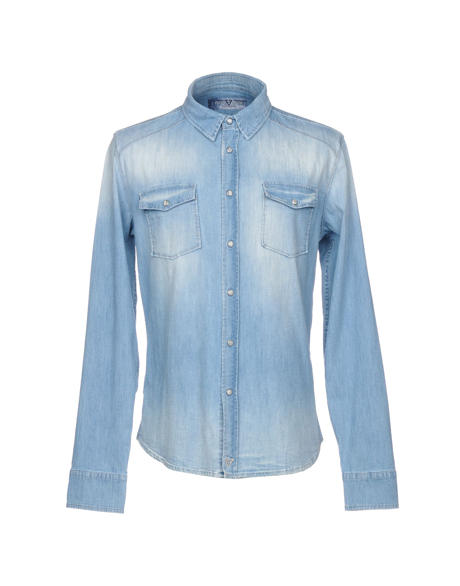 Camicia Jeans Fifty - Four Uomo - Fifty 42676341ID 56bdb4