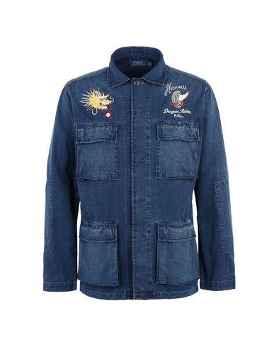 1ac92970cef2 Blouson En Jean Polo Ralph Lauren Indigo Shirt - Homme - Blousons En ...