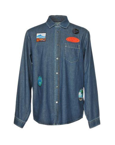 billig klaring Kenzo Denim Shirt billig kjøp klaring lav frakt salg sneakernews 1dsWY7Ii0D