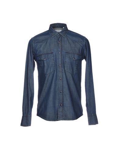 Presidenter Denim Shirt rabatt offisielle shop tilbud jFh2GU6Z5