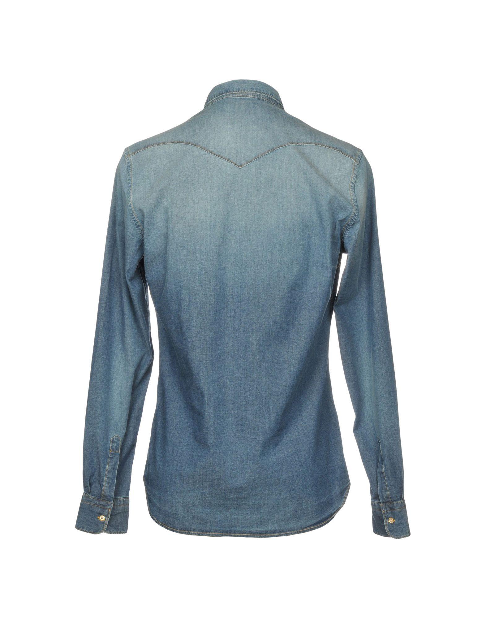 Camicia Jeans Aglini Aglini Jeans Uomo - 42677923ML 98f030