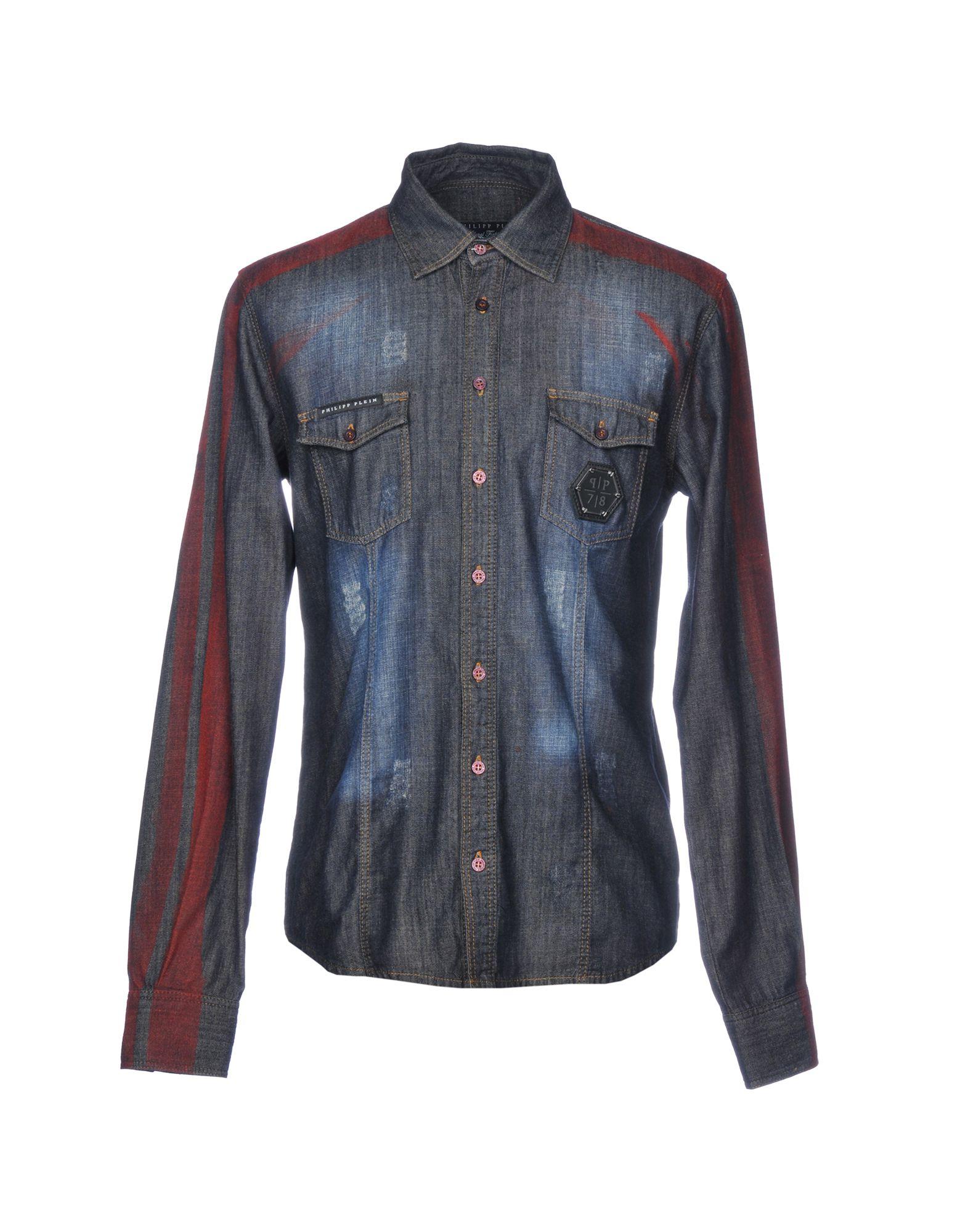 Camicia Jeans Uomo Philipp Plein Uomo Jeans - 42678016DT 1f9d3c