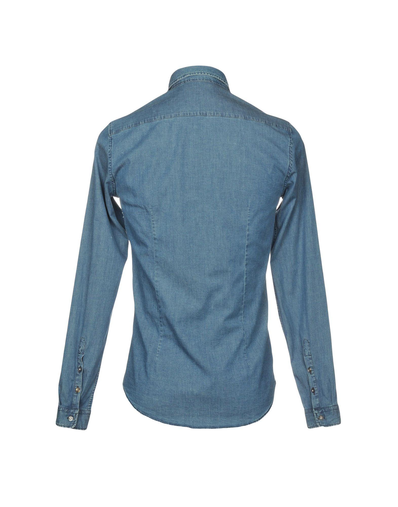 Camicia Jeans Aglini Aglini Aglini Uomo - 42678186LF 3279ed