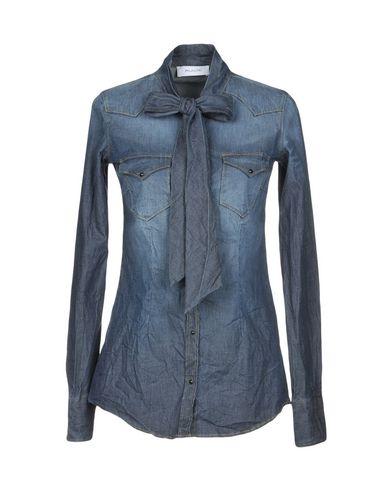 billig rimelig rabatt nedtellingen pakke Aglini Denim Shirt billig forsyning kjøpe billig beste mållinja billig pris 6HPdzKCMb