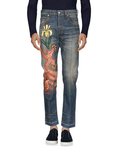 di prim'ordine 81140 d3dad GUCCI Denim trousers - Jeans and Denim | YOOX.COM