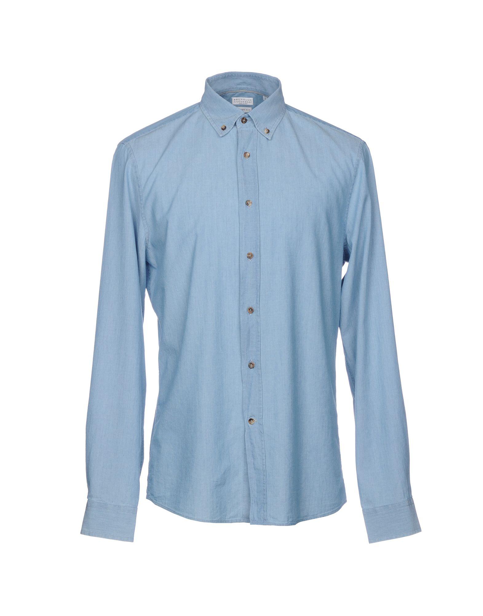 Camicia Jeans Jeans Camicia Brunello Cucinelli Uomo - 42678774CC a19451