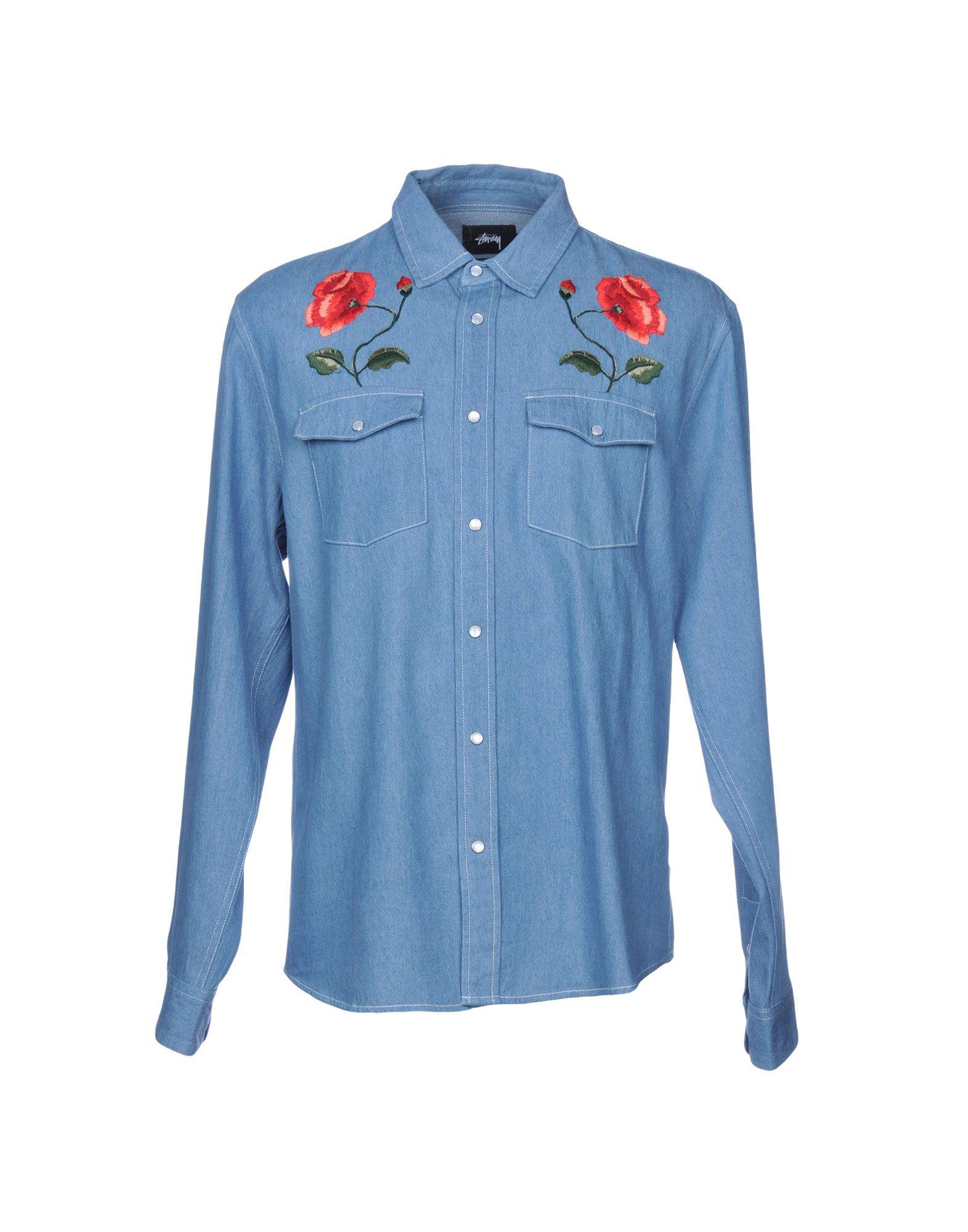 Camicia Camicia Di Jeans Stussy uomo - 42678851HM  exklusiv