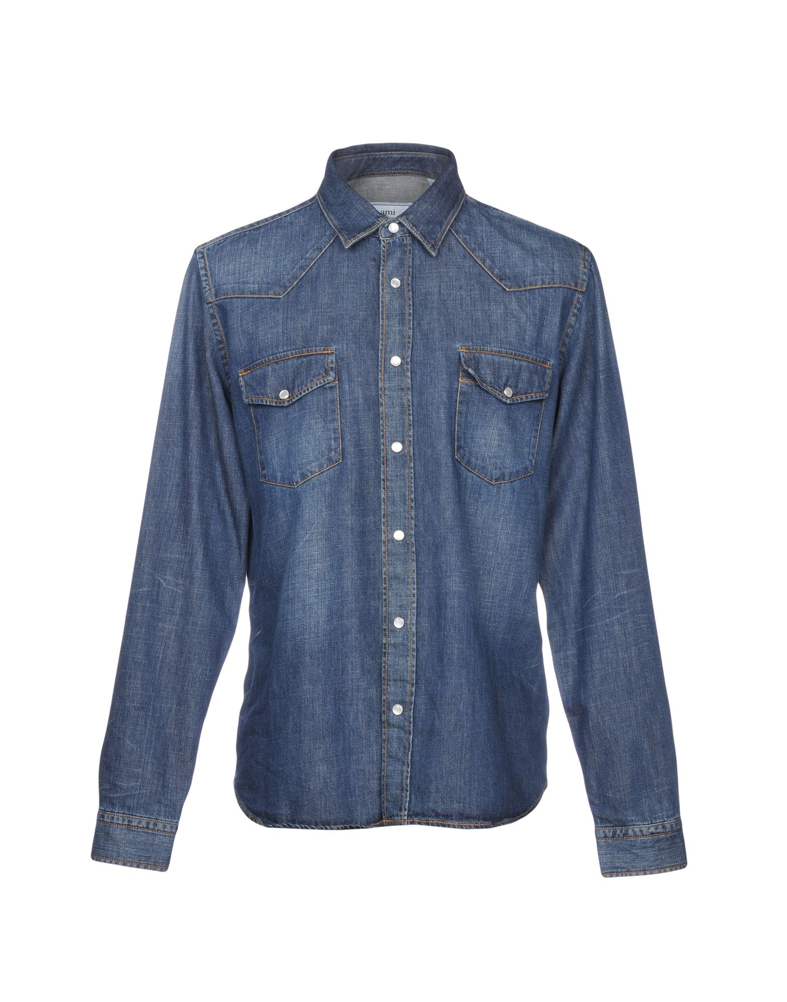 5085060035 Camicia Jeans Ami Alexandre Mattiussi Uomo - 42682607DJ nsriwu1920 ...