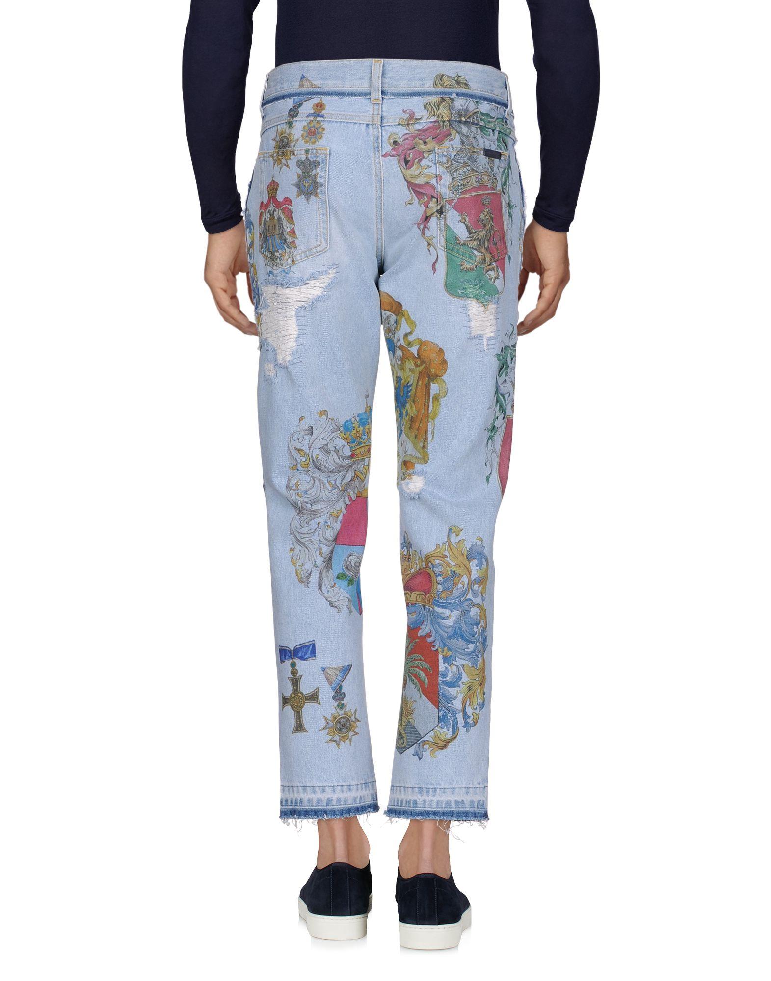 Pantaloni Dolce Jeans Dolce Pantaloni & Gabbana Uomo - 42682794KD 708256