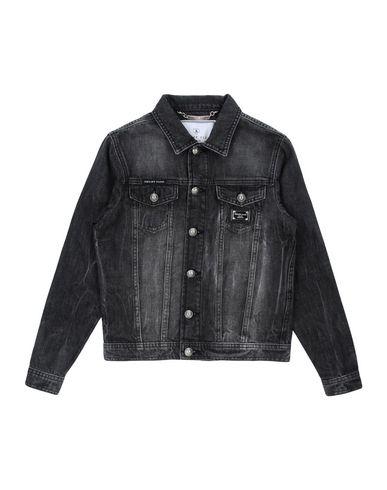 comprare on line 529d7 460a8 PHILIPP PLEIN Giubbotto jeans - Jeans e Denim | YOOX.COM