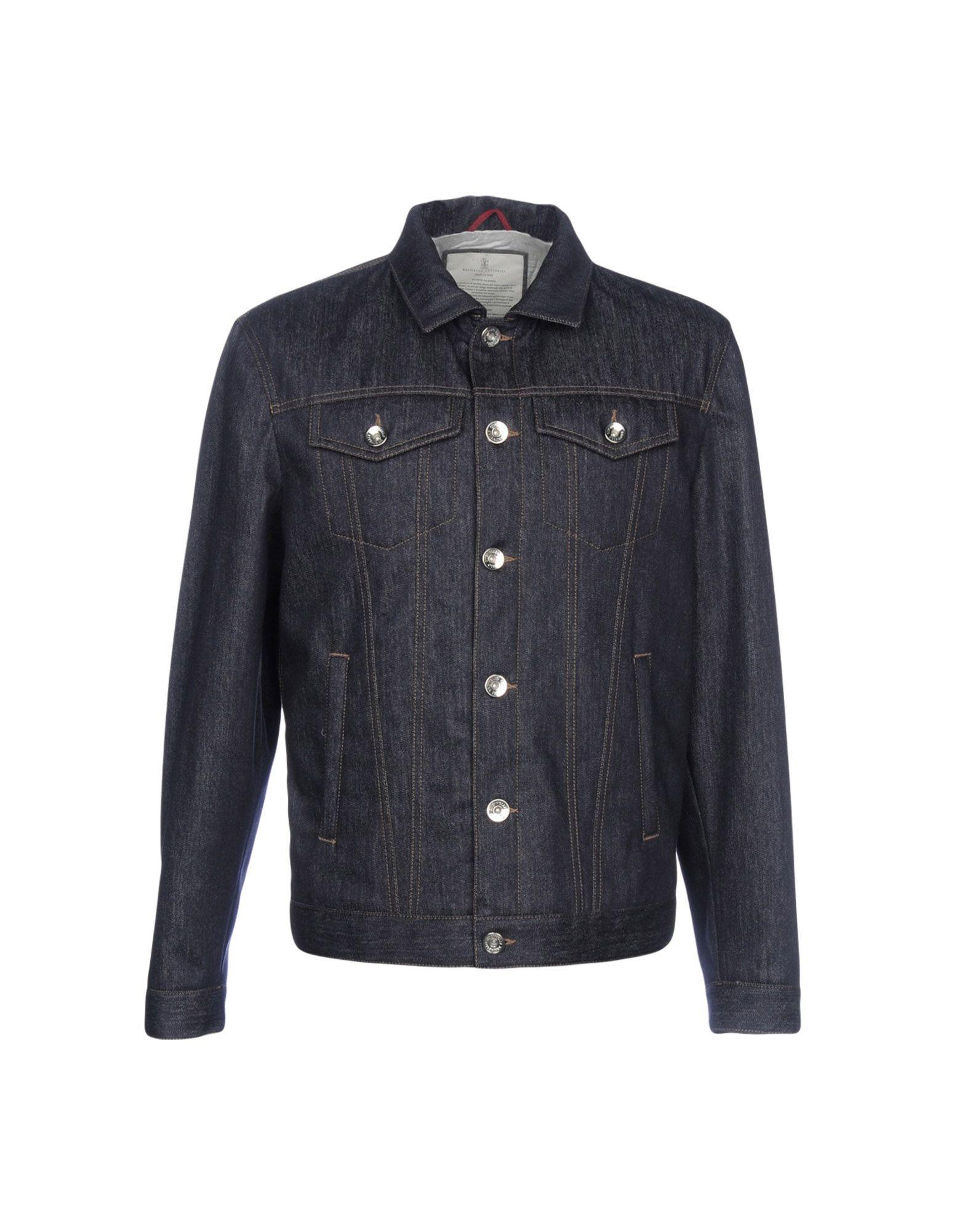 Giubbotto Jeans Cucinelli Brunello Cucinelli Jeans Uomo - 42684877XD 1bff24