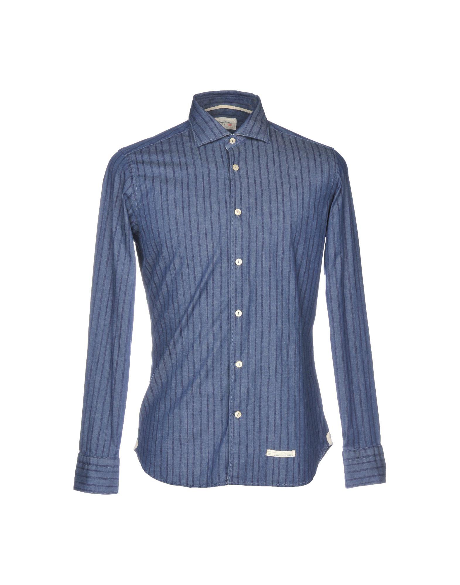 Camicia Jeans Tintoria Tintoria Jeans Mattei 954 Uomo - 42687148PQ b82b24