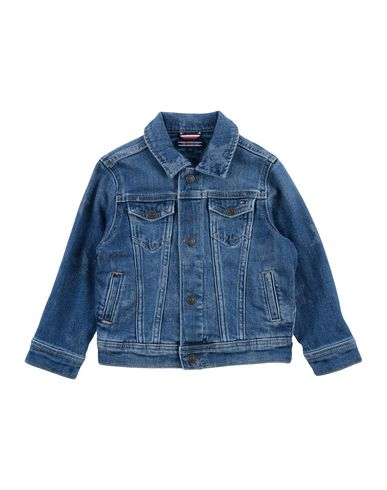 the latest 21568 a223c TOMMY HILFIGER Denim jacket - Jeans and Denim   YOOX.COM