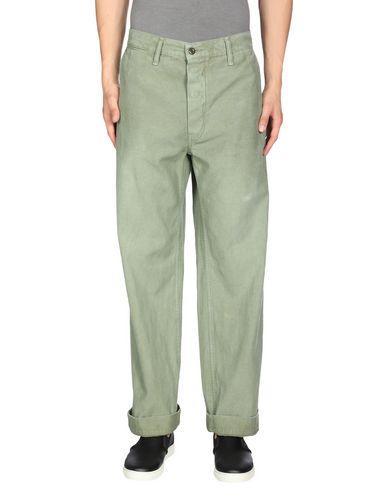 CHIMALA Denim Pants in Military Green