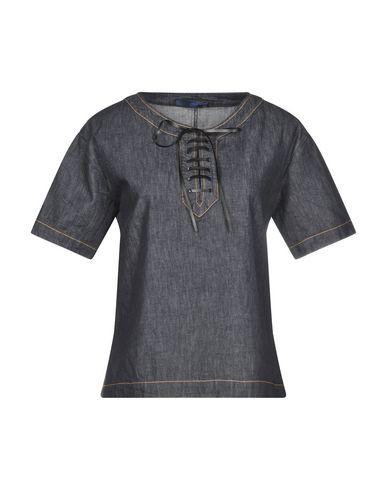 BLUE LES COPAINS - Denim shirt