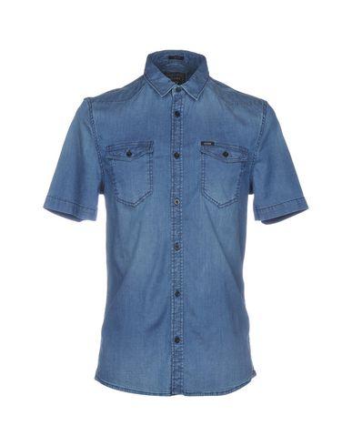 buy popular 69c6b ebbb8 GUESS Jeanshemd - Jeans & Denim | YOOX.COM