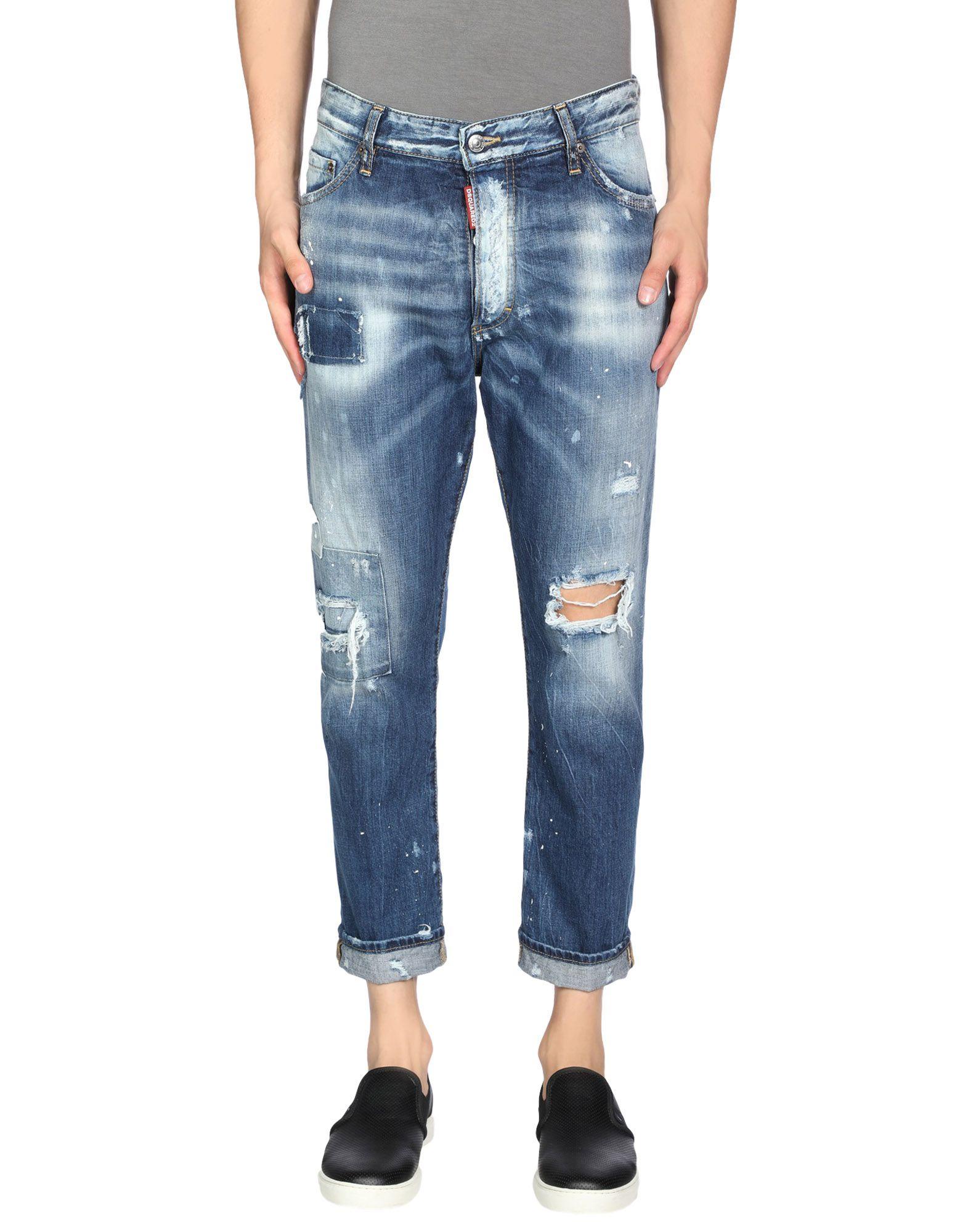 Dsquared2 Pantaloni Jeans - Dsquared2 Uomo - YOOX 5912b7c1b638