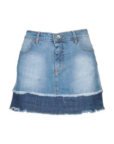low priced 28370 37924 FORNARINA Denim skirt - Jeans and Denim   YOOX.COM