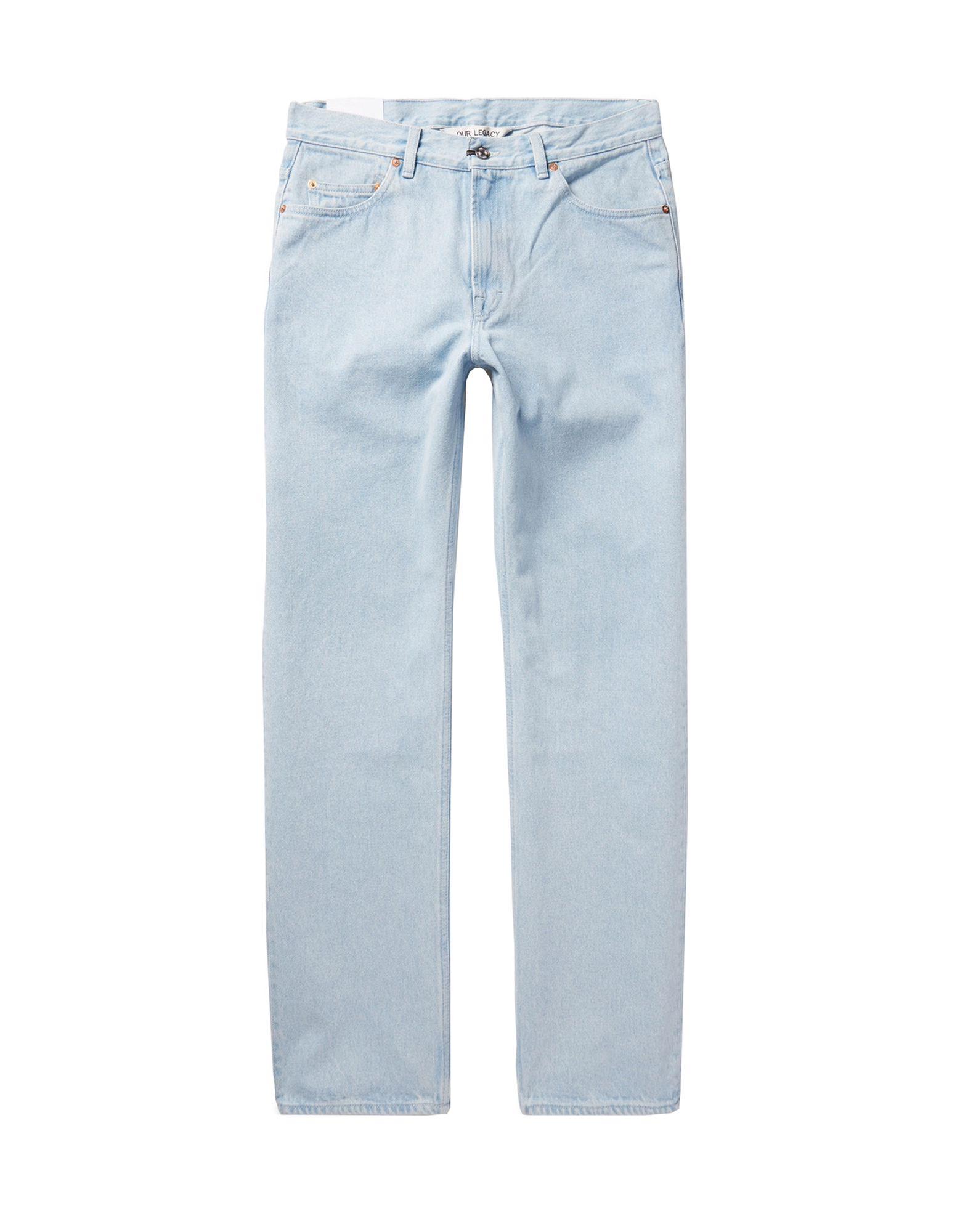 d6ef2c0a59feb Our Legacy Denim Pants - Men Our Legacy Denim Pants online on YOOX ...