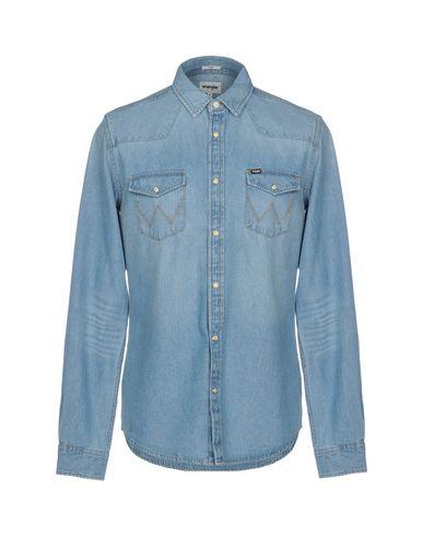 cdd2722a Wrangler Denim Shirt - Men Wrangler Denim Shirts online on YOOX ...