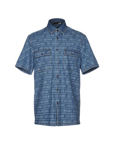 Camicia Jeans Love Moschino Uomo - Acquista online su YOOX - 42693892KJ 74eecac303c