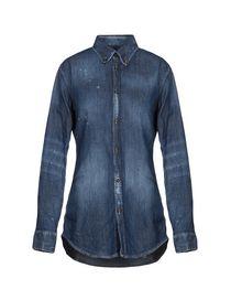 Camicie Jeans Dsquared2 Donna Collezione Primavera-Estate e Autunno ... c79c43b935a1