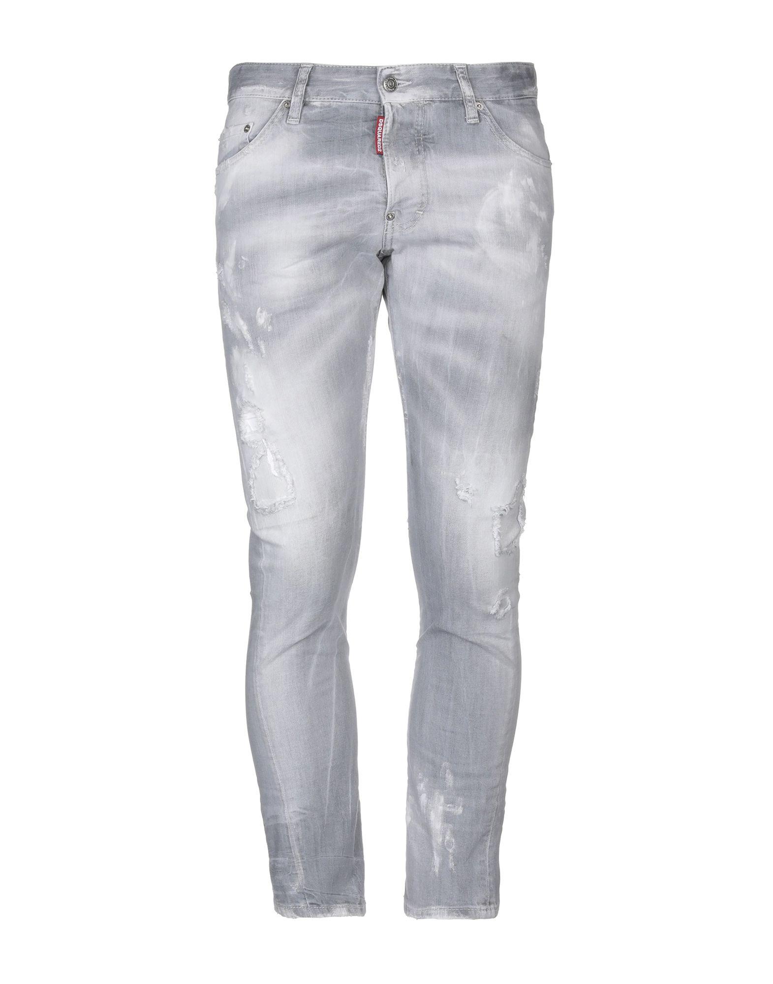 Dsquared2 Denim Pants - Men Dsquared2 Denim Pants online on YOOX United  States - 42695365NI dbe1841256e9