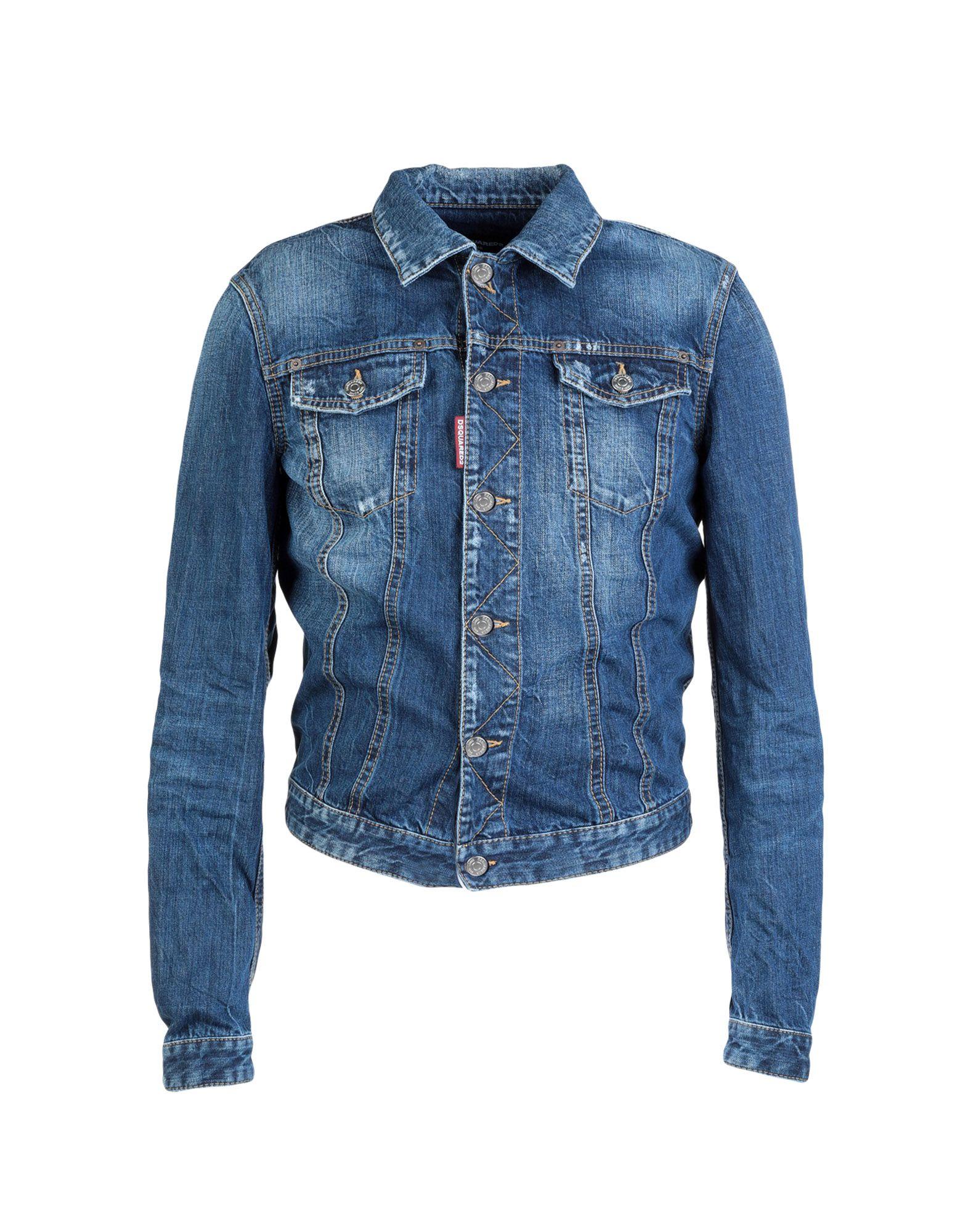 6384b3bf2727d3 Dsquared2 Denim Jacket - Men Dsquared2 Denim Jackets online on YOOX  Australia - 42695498FV